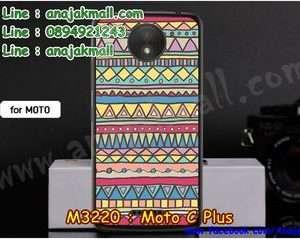 M3220-18 เคสแข็ง Moto C Plus ลาย Graphic IV