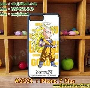 M3231-04 เคสขอบยาง iPhone7 Plus ลาย Dragonball Z 01