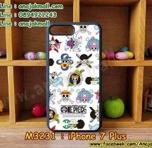 M3231-05 เคสขอบยาง iPhone7 Plus ลาย piece16