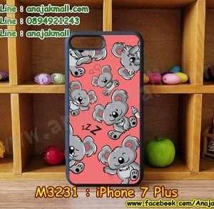 M3231-06 เคสขอบยาง iPhone7 Plus ลาย Koala 01