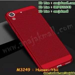 M3249-02 เคส PC ระบายความร้อน Huawei Y6ii สีแดง