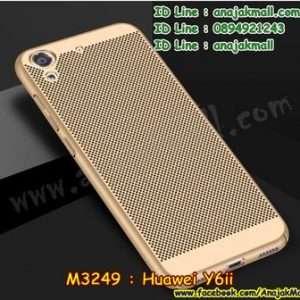 M3249-03 เคส PC ระบายความร้อน Huawei Y6ii สีทอง