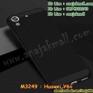M3249-05 เคส PC ระบายความร้อน Huawei Y6ii สีดำ