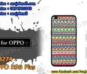 M3274-06 เคสยาง OPPO R9S Plus/R9S Pro ลาย Graphic IV