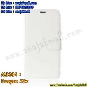 M3284-08 เคสฝาพับ Doogee Mix สีขาว