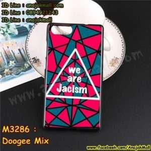 M3286-01 เคสยาง Doogee Mix ลาย Jacism
