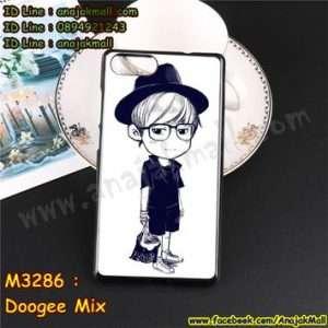 M3286-02 เคสยาง Doogee Mix ลาย Share Two