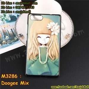 M3286-03 เคสยาง Doogee Mix ลาย Malka