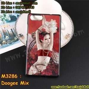 M3286-06 เคสยาง Doogee Mix ลาย Lomia