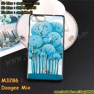 M3286-07 เคสยาง Doogee Mix ลาย Blue Tree