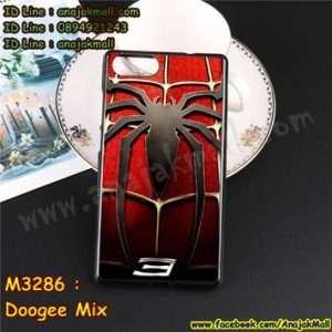 M3286-08 เคสยาง Doogee Mix ลาย Spider