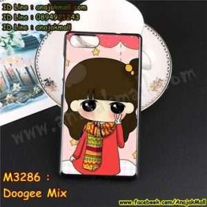 M3286-09 เคสยาง Doogee Mix ลายฟินฟิน