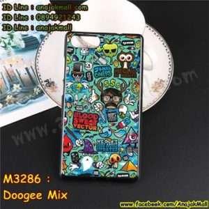 M3286-11 เคสยาง Doogee Mix ลาย Blood Vector