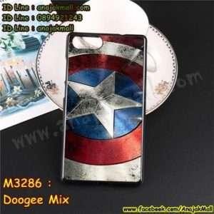 M3286-12 เคสยาง Doogee Mix ลาย CapStar