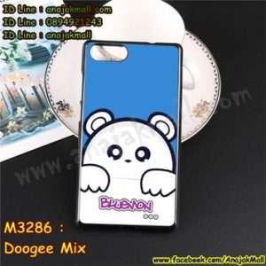 M3286-13 เคสยาง Doogee Mix ลาย Bluemon