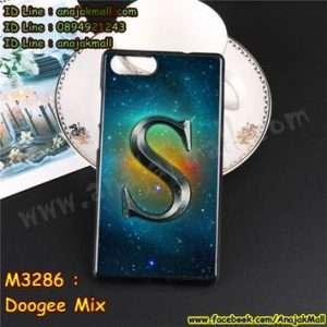 M3286-14 เคสยาง Doogee Mix ลาย Super S