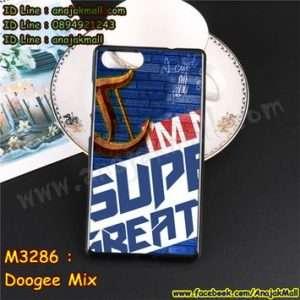 M3286-15 เคสยาง Doogee Mix ลาย Super