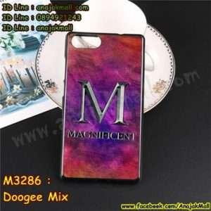 M3286-16 เคสยาง Doogee Mix ลาย Magnificent