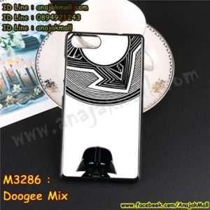 M3286-17 เคสยาง Doogee Mix ลาย Alio