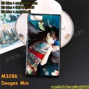 M3286-20 เคสยาง Doogee Mix ลาย Jayna