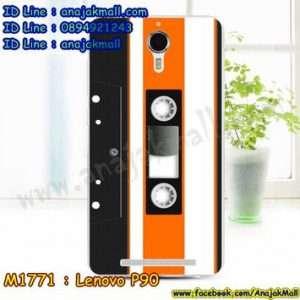 M1771-30 เคสยาง Lenovo P90 ลาย Tape 01