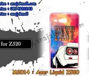 M2014-42 เคสยาง Acer Liquid Z520 ลาย Fast 01