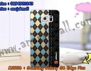 M2226-26 เคสยาง Samsung Galaxy S6 Edge Plus ลาย Classic 02
