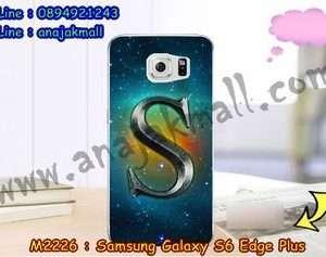 M2226-27 เคสยาง Samsung Galaxy S6 Edge Plus ลาย Super S