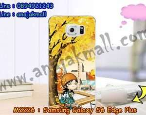 M2226-29 เคสยาง Samsung Galaxy S6 Edge Plus ลาย Fastiny