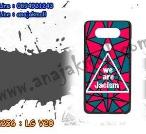 M2256-04 เคสแข็งดำ LG V20 ลาย Jacism