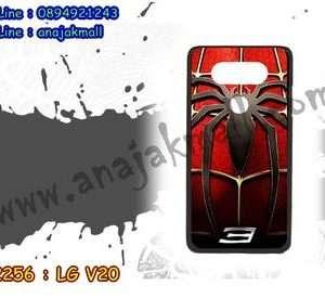 M2256-06 เคสแข็งดำ LG V20 ลาย Spider