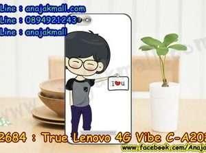 M2684-42 เคสยาง True Lenovo 4G Vibe C ลาย Man Love X01