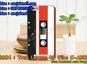 M2684-45 เคสยาง True Lenovo 4G Vibe C ลาย Tape 01