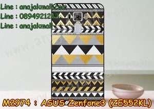 M2974-18 เคสแข็ง Asus Zenfone 3 – ZE552KL ลาย Graphic X