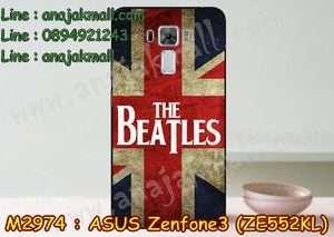 M2974-20 เคสแข็ง Asus Zenfone 3 – ZE552KL ลาย Beatles