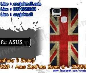 M3229-20 เคสแข็ง Asus Zenfone Zoom S-ZE553KL ลาย Flag I