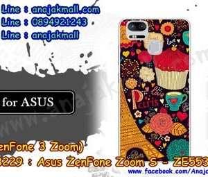 M3229-23 เคสแข็ง Asus Zenfone Zoom S-ZE553KL ลาย Paris XI