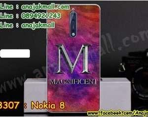 M3307-07 เคสแข็ง Nokia 8 ลาย Magnificent