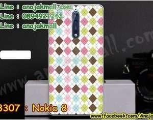 M3307-14 เคสแข็ง Nokia 8 ลาย Supreme X01