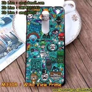 M3308-10 เคสยาง Wiko View Prime ลาย JinUp