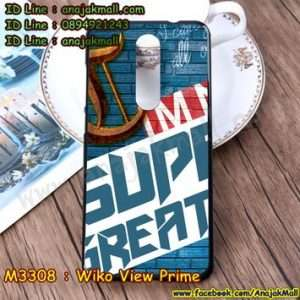 M3308-17 เคสยาง Wiko View Prime ลาย Super