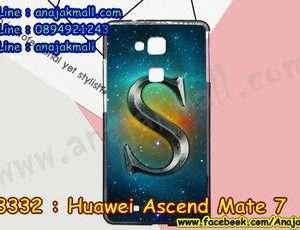 M3332-06 เคสยาง Huawei Ascend Mate 7 ลาย Super S