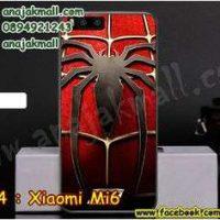 M3334-10 เคสแข็ง Xiaomi Mi6 ลาย Spider