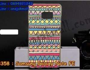 M3358-04 เคสยาง Samsung Note FE ลาย Graphic IV