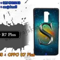 M3385-11 เคสยาง OPPO R7 Plus ลาย Super S
