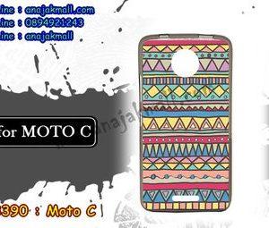 M3390-06 เคสยาง Moto C ลาย Graphic IV