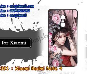 M3391-02 เคสยาง Xiaomi Redmi Note 4 ลาย Laminia