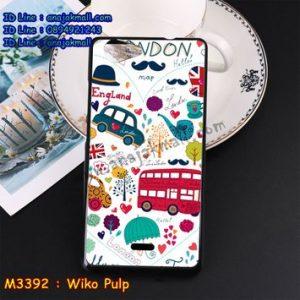 M3392-02 เคสยาง Wiko Pulp ลาย London