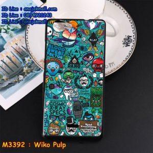 M3392-07 เคสยาง Wiko Pulp ลาย JinUp