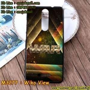 M3277-17 เคสยาง Wiko View ลาย War